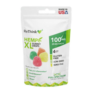 ReThink CBD Hemp Gummies XL